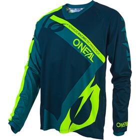 ONeal Element FR Koszulka kolarska, długi rękaw Mężczyźni zielony/petrol